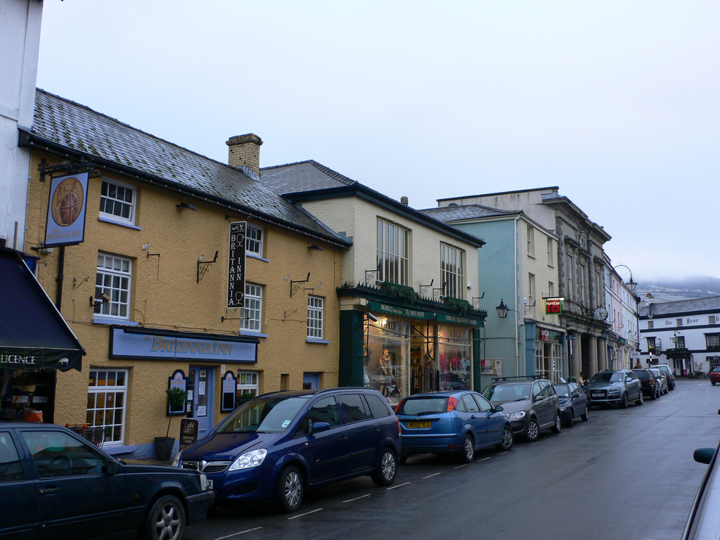 For many, simply strolling the streets will rank among the top tourist attractions in Brecon